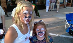 facepainting girls