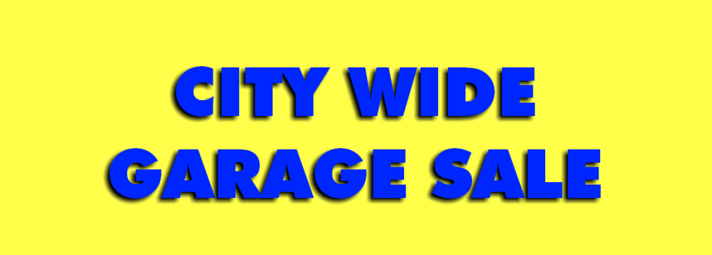 Fall Community-Wide Garage Sales 2020