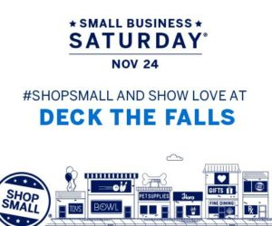 Deck the Falls #shopsmall